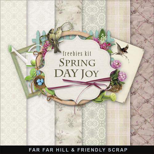 Scrap Kit - Spring Day Joy
