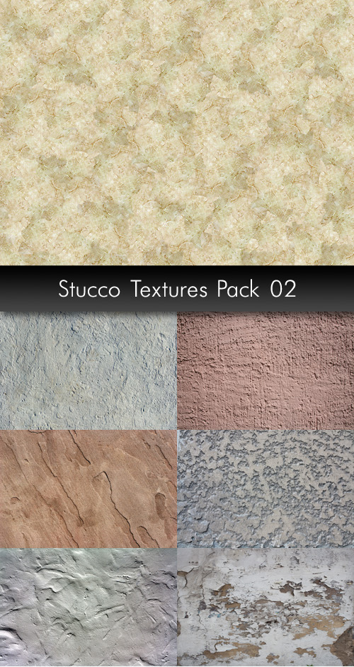 Stucco Textures, pack 2