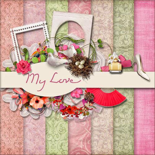 Scrap Kit - My Love