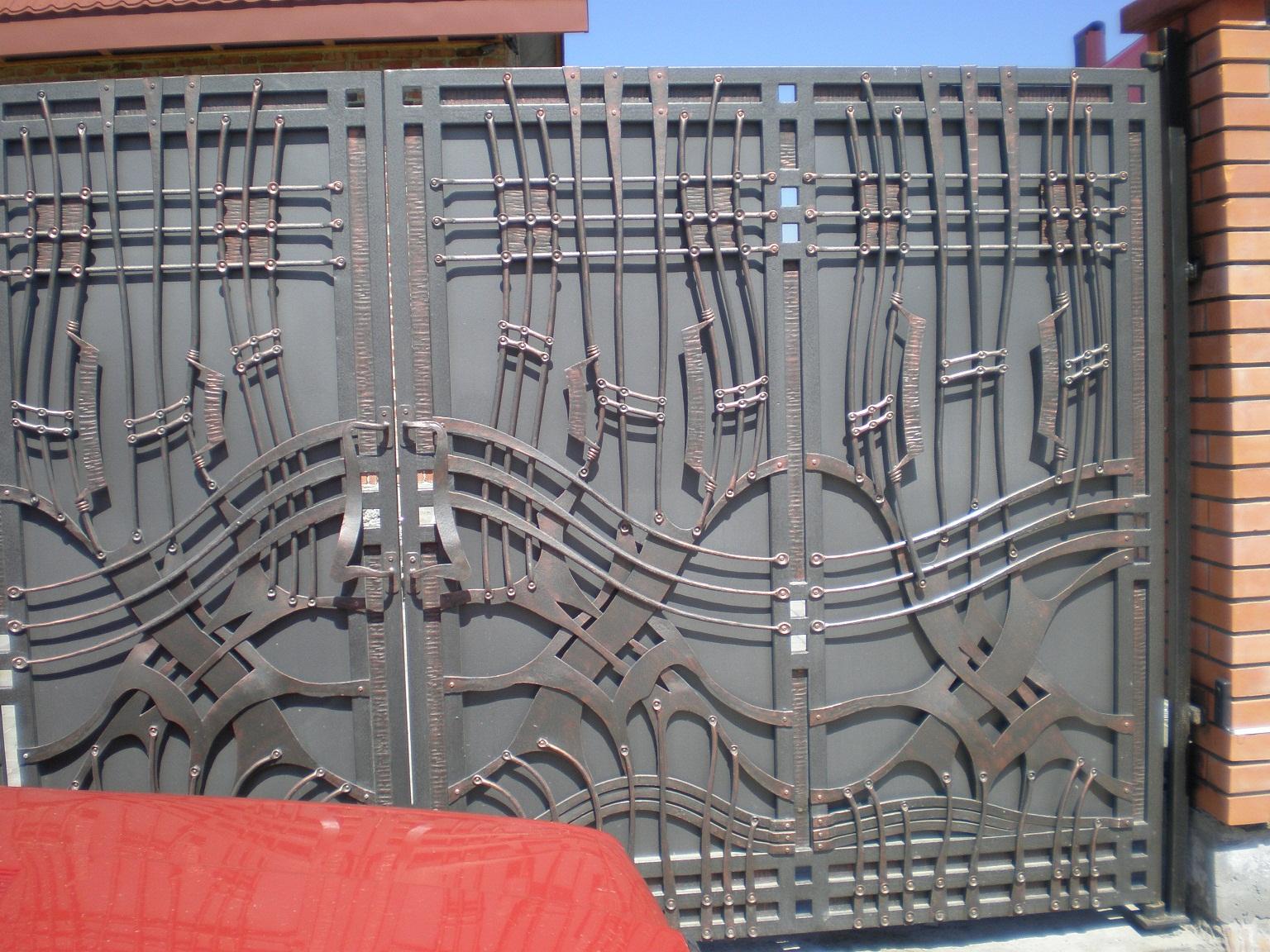 Как приварить петли на ворота? - Строительство дома своими 65