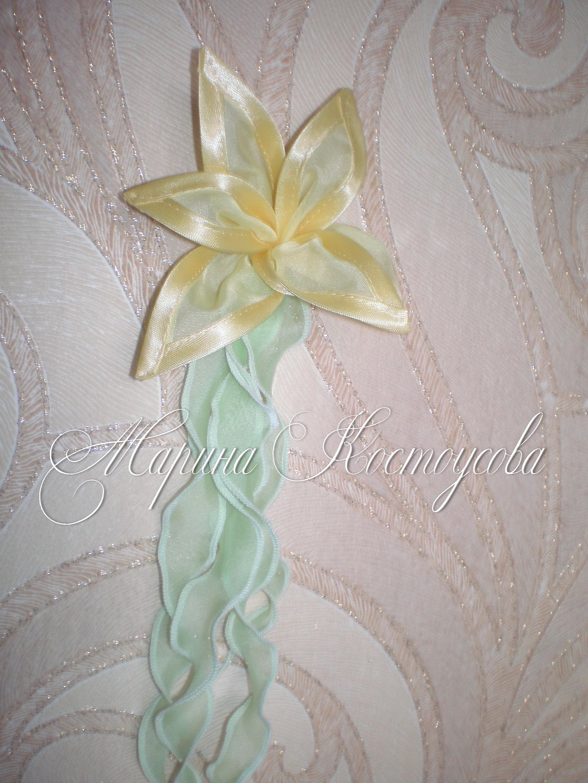 Цветы из ткани для ламбрекена своими руками мастер класс