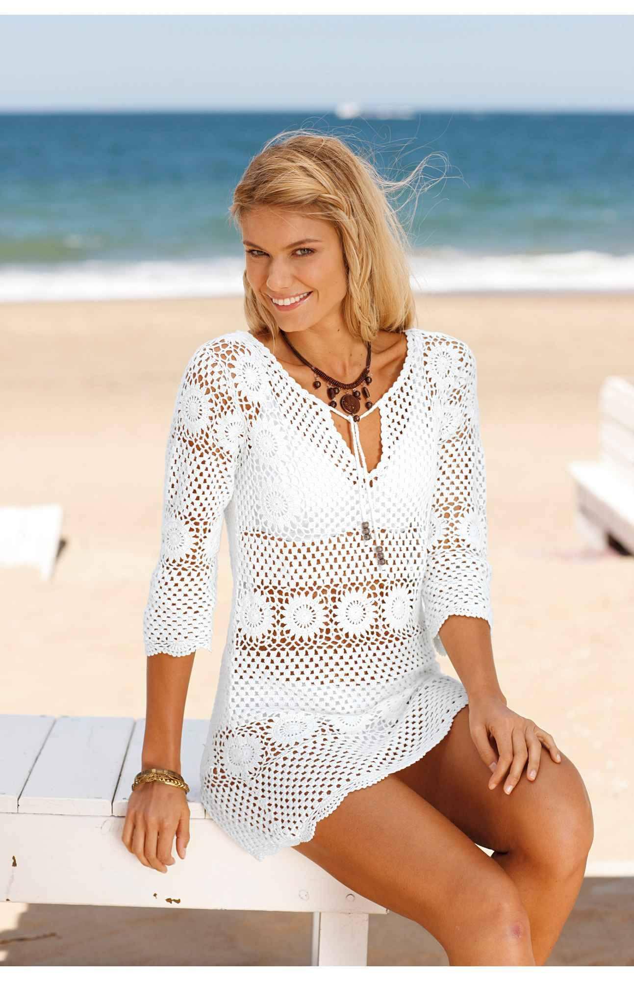 Вязание для пляжа схемы