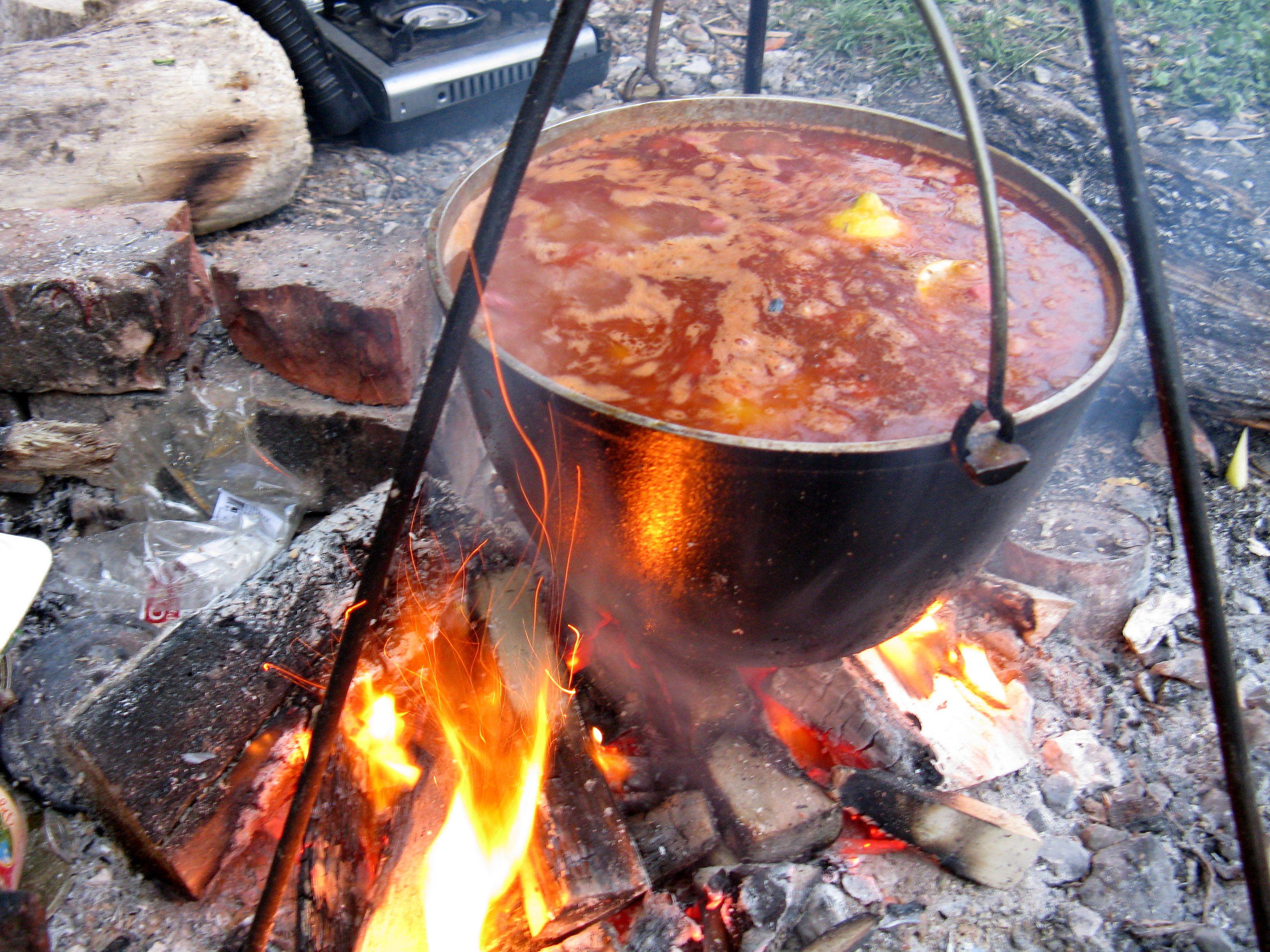 Блюда приготовленные на костре