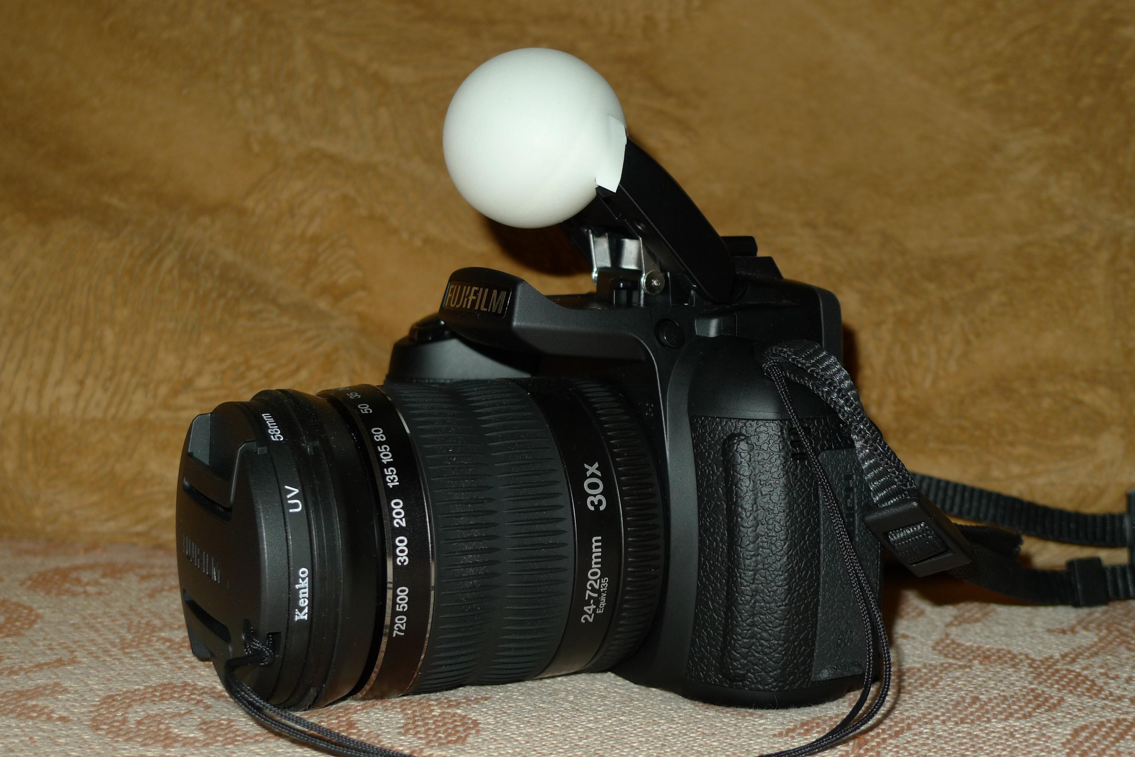 Как сделать фото с одной вспышкой
