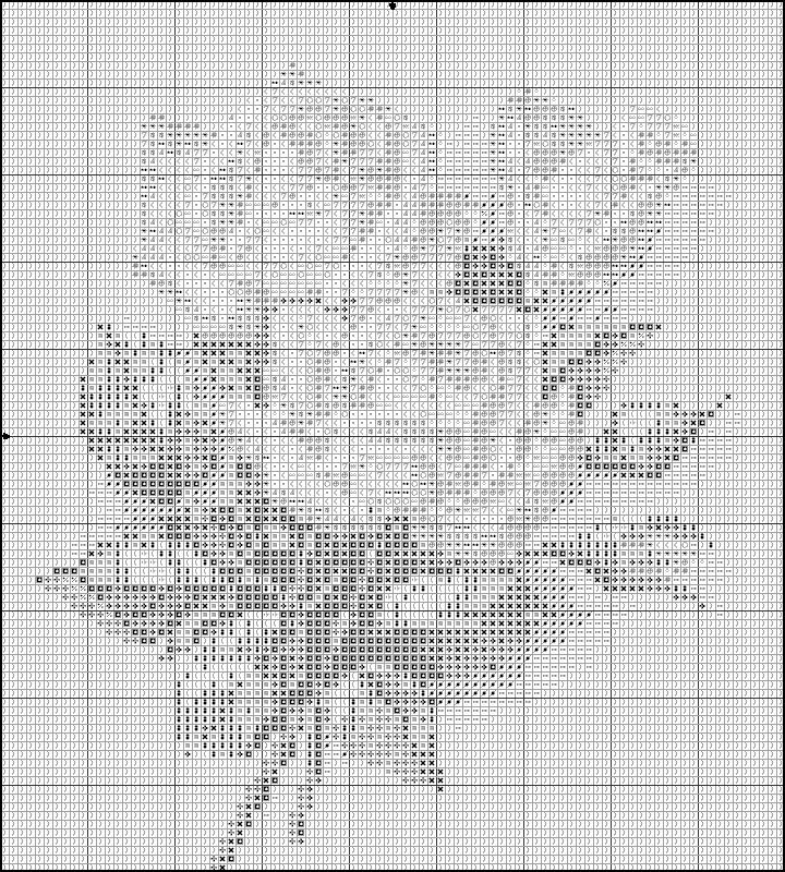 Вышивка крестом белым по черному схемы