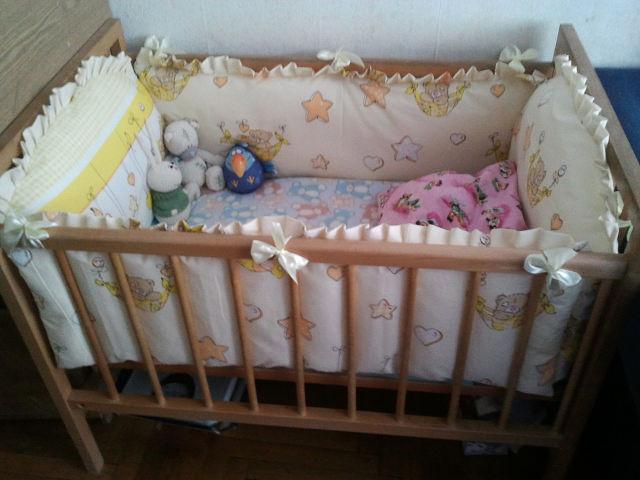 Бортики в кроватку для новорожденных своими руками выкройки