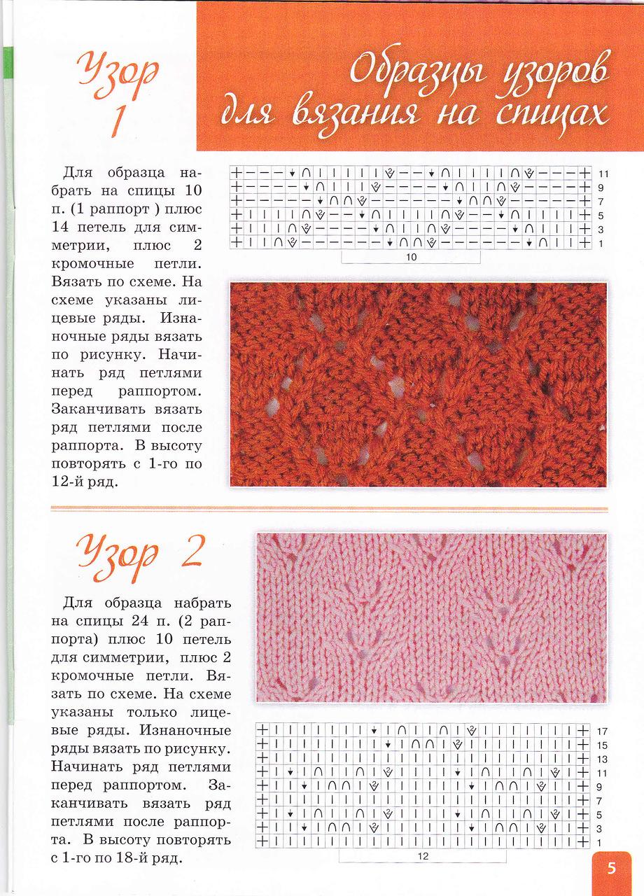 Журналы по вязанию со схемами и описанием с доступом