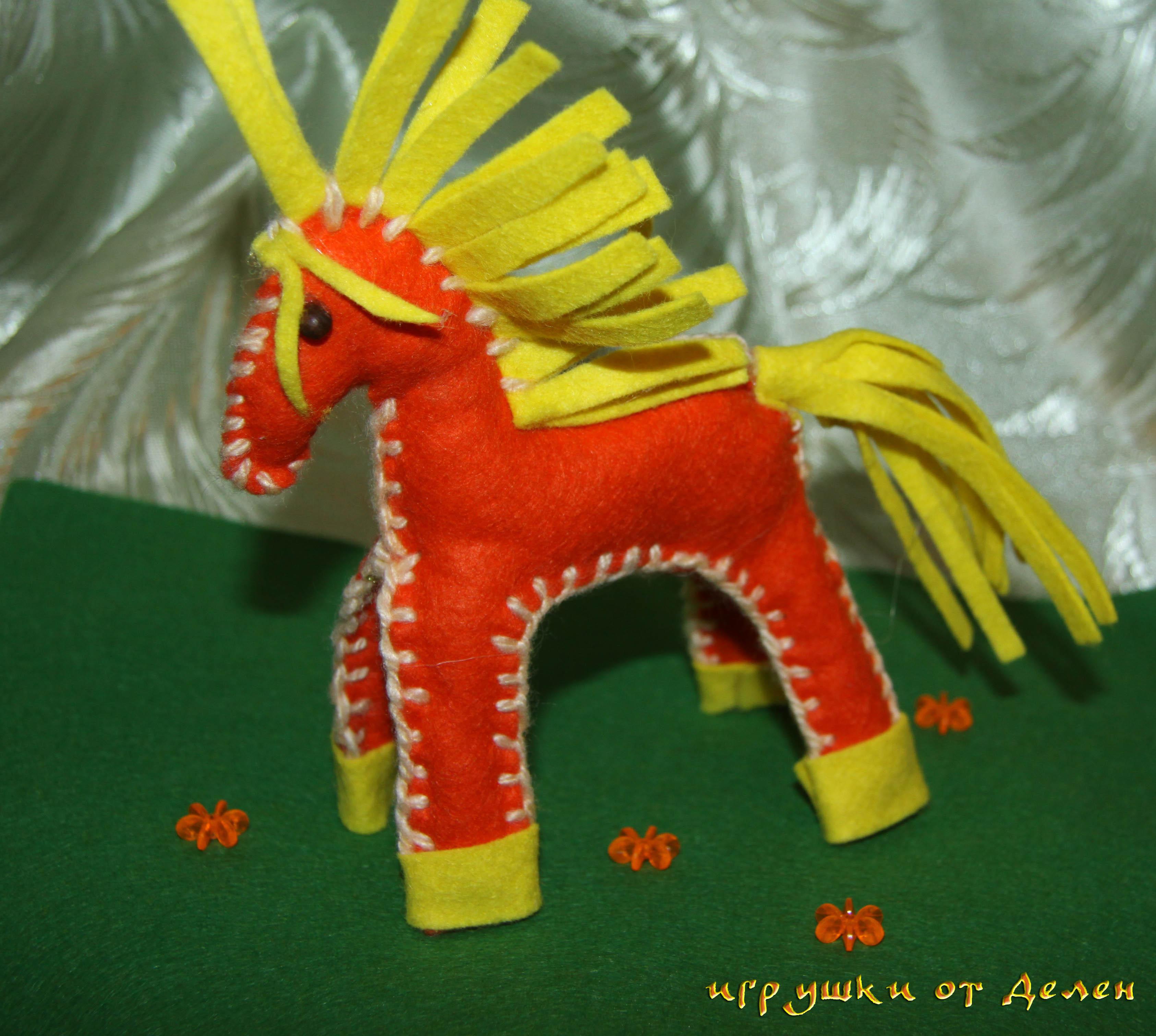 Детские поделки лошадки