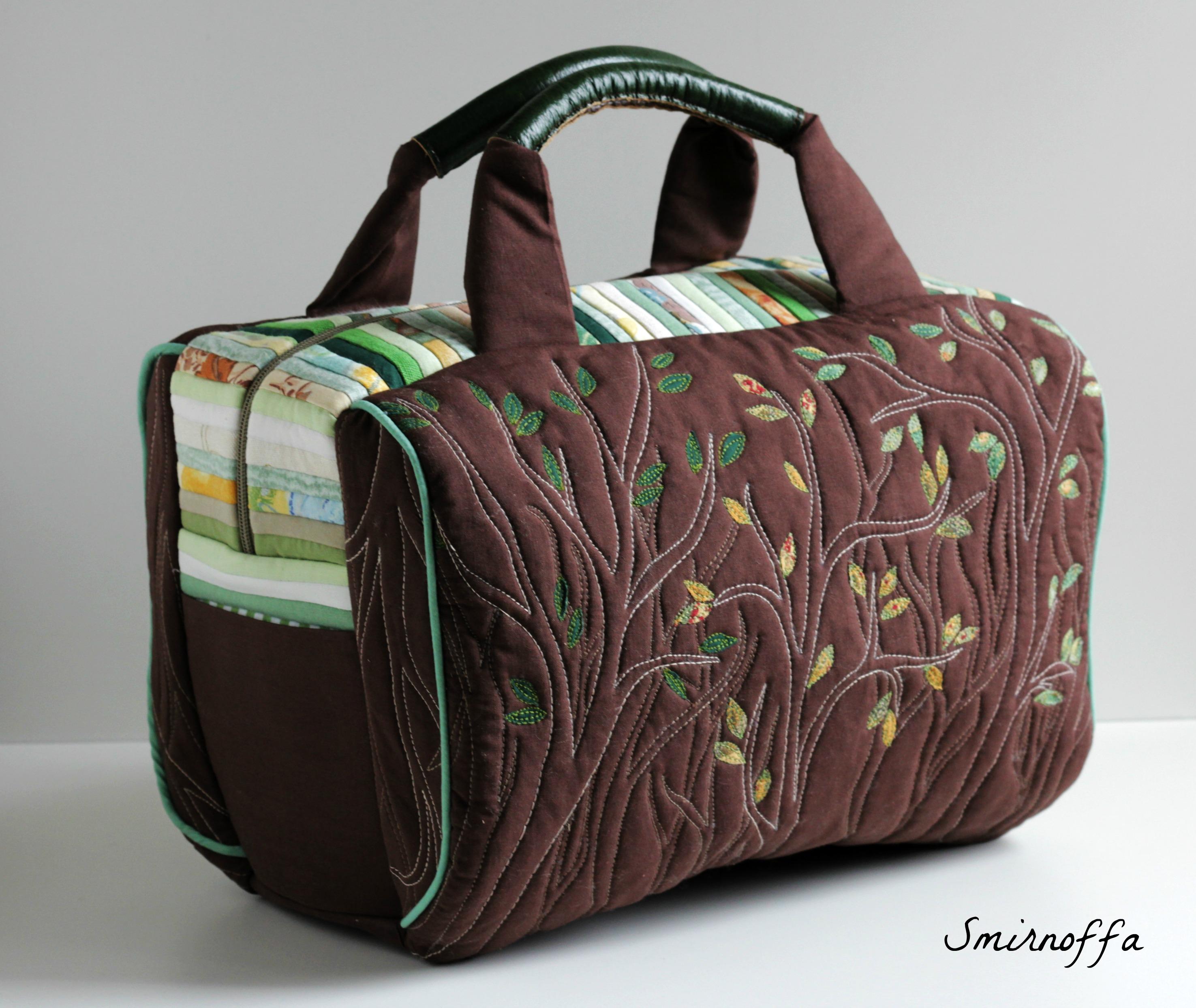 Модель сумочки - саквояж, привношу кое-какие авторские изменения и. Гардероб Мастер-класс Шитьё Пошив кожаной сумки...