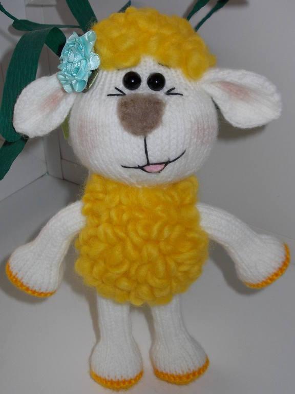 Овечка Олли от Jelena03. Обожаю игрушки этого автора. Спасибо. Имя или Ц