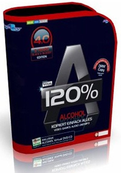 Нажмите для просмотра полной новости: Alcohol 120% Black Edition 4.0 (Multi