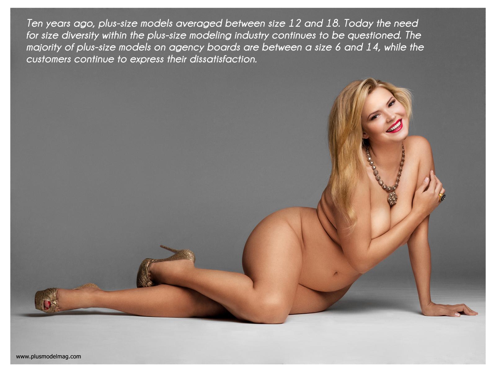 Голые толстые модели