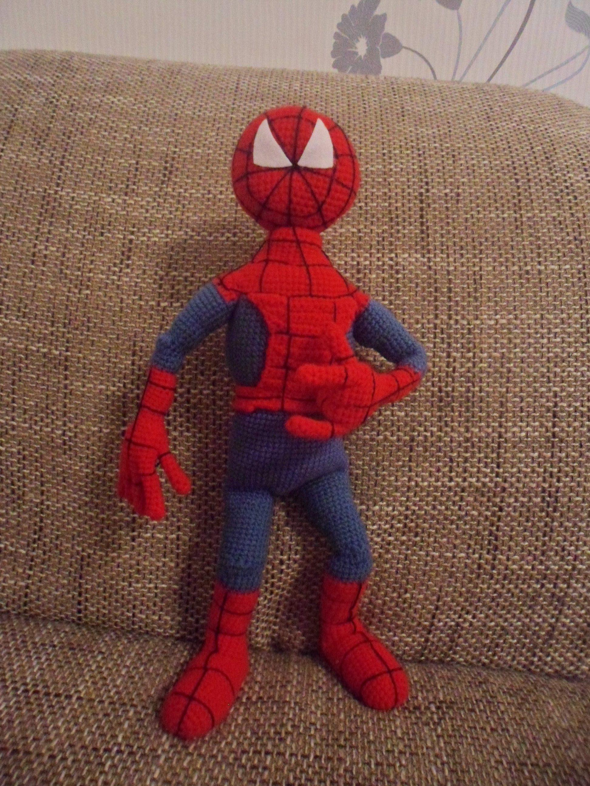 Как сделать человек паук дома мастер класс