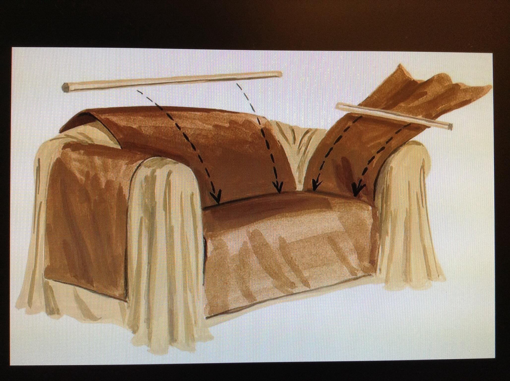Декоративная подушка выкройка 58