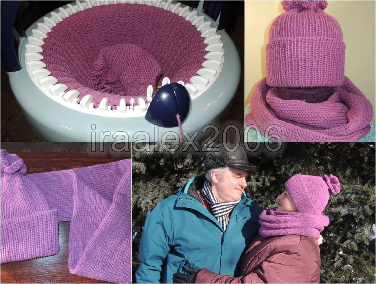 Машинка для вязания шапок