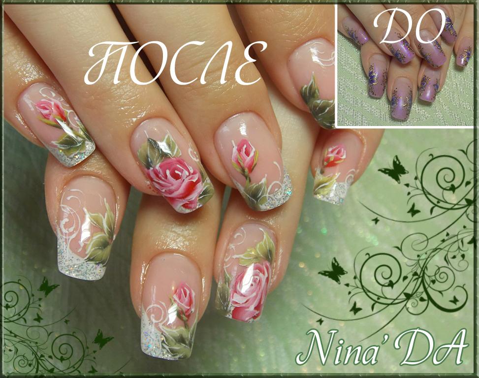 Дизайн ногтей с цветами фото новинки