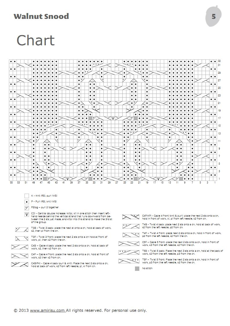 Схемы модульного вязания спицами 409