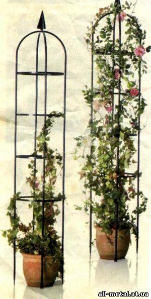 Подставка для вьющихся комнатных цветов своими руками 40