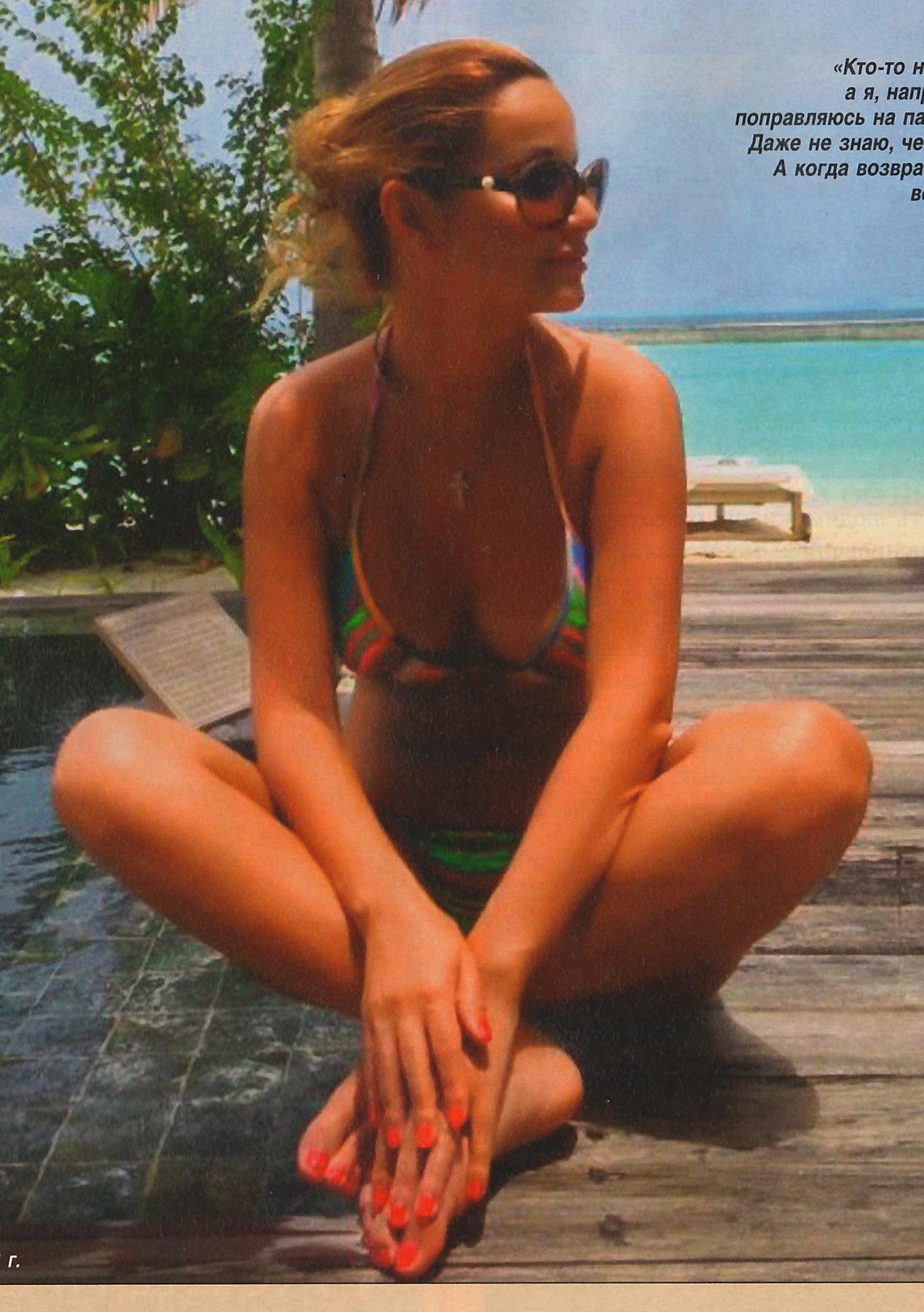 Ольга шелест на пляже фото