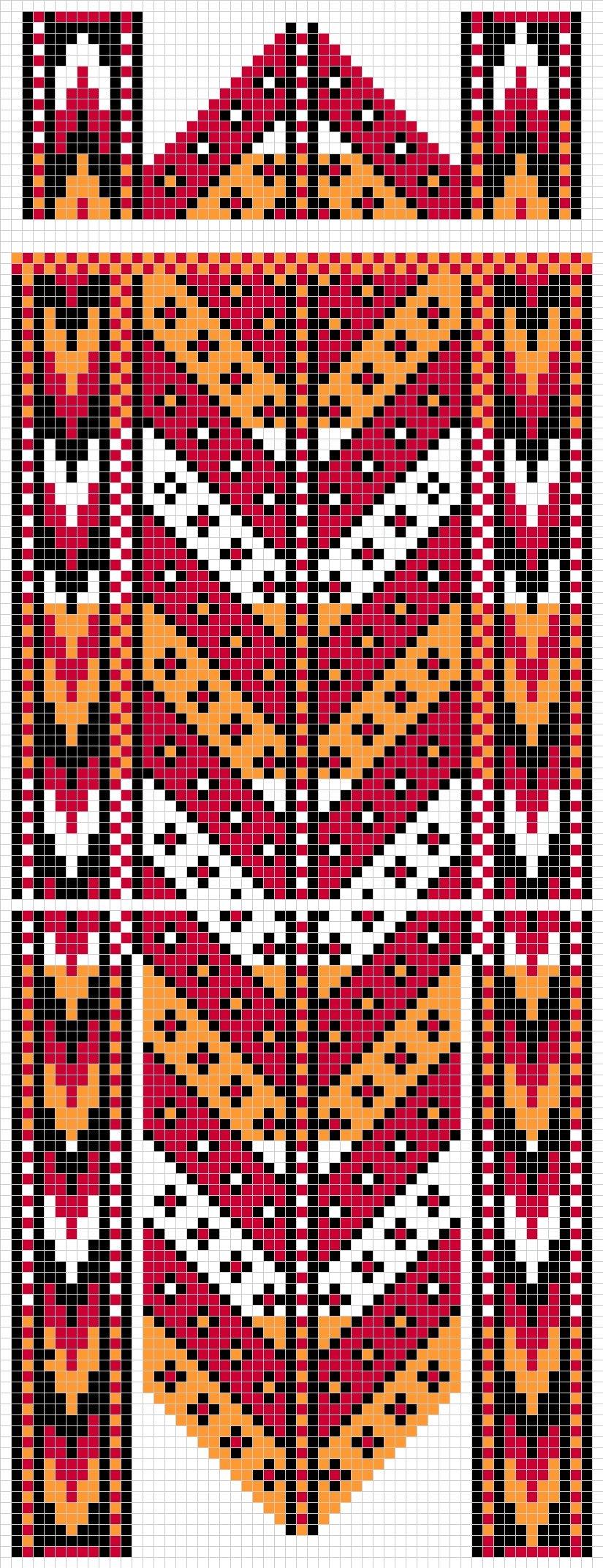 Турецкие рисунки для вязания