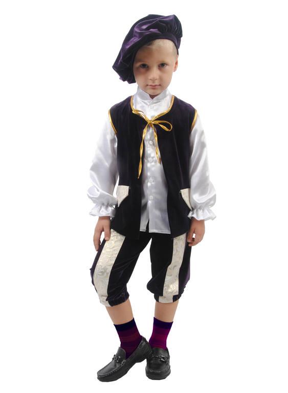 Новогодний костюм принца для мальчика своими руками