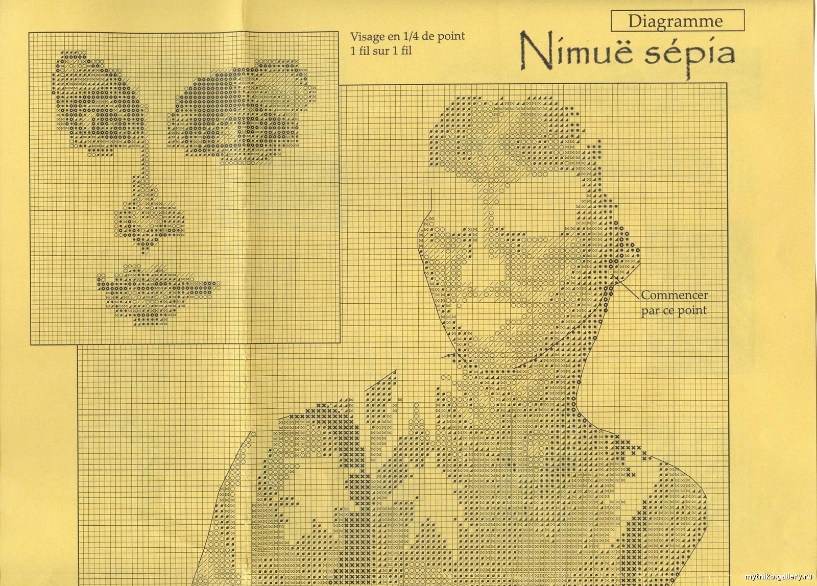 Вышивка -сепия Записи в рубрике Вышивка -сепия Дневник Omuravickaya 45