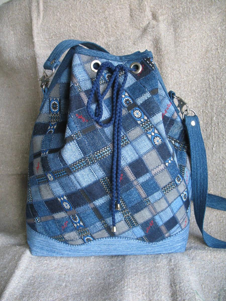 Рюкзак из джинсов своими руками (79 фото) 3