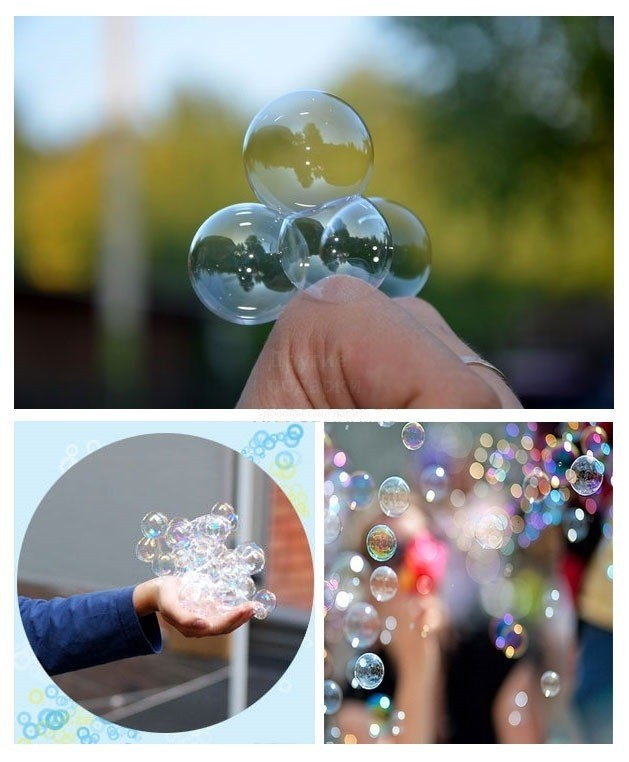 Как до сделать хорошие мыльные пузыри