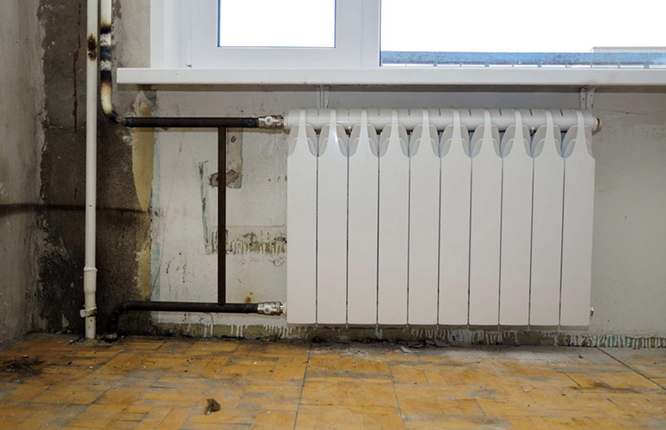 Замена батарей отопления в квартире своими руками Строй 30