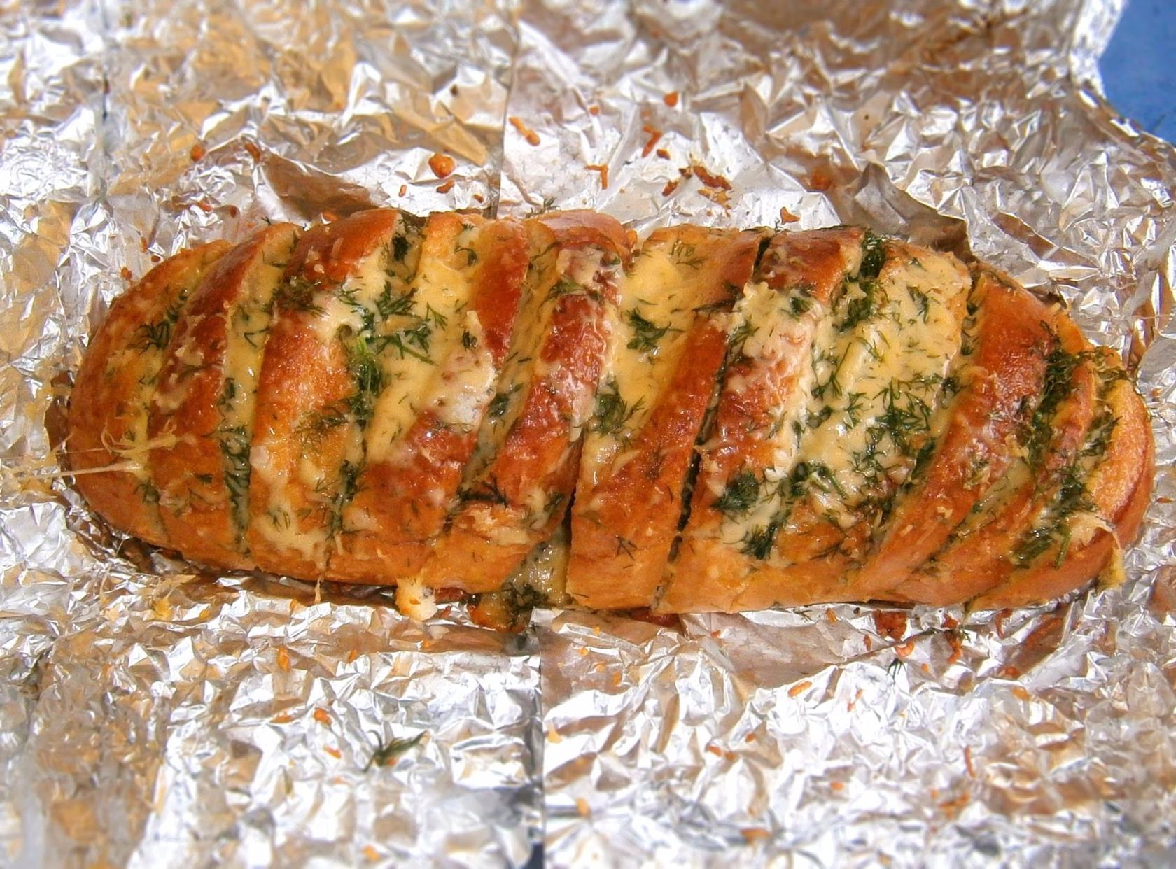 Багет в духовке пошаговый рецепт с чесноком