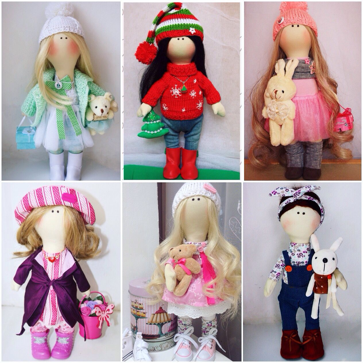 Интерьерная куколка своими руками 50