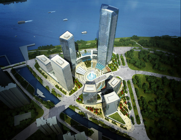 Генплан застройки нового района Пажоу