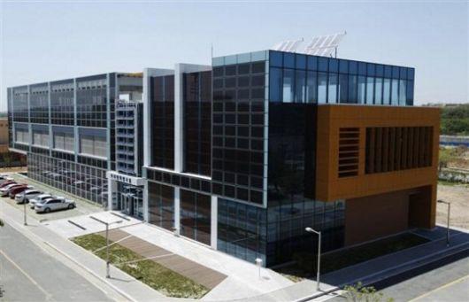 Корейское углеродно-нейтральное офисное здание