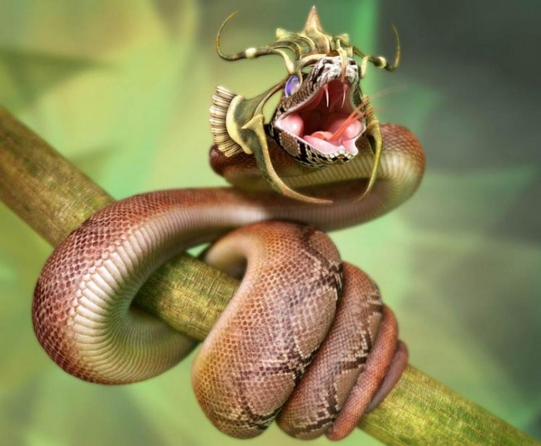 Привет змея смешные картинки, сделать открытку для