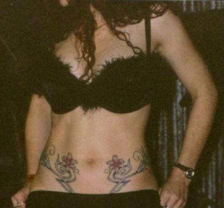 фото тату на животе берковой ключ соломона использовался