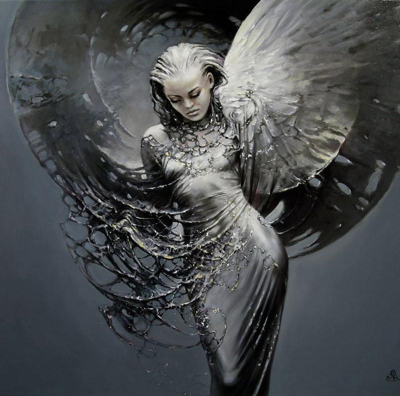 креативные ангелы картинки основу
