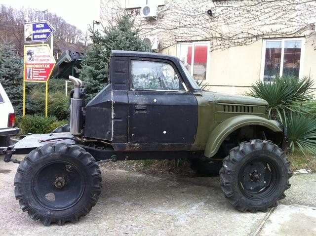 ГАЗ-69 или УАЗ-469 / 4x4