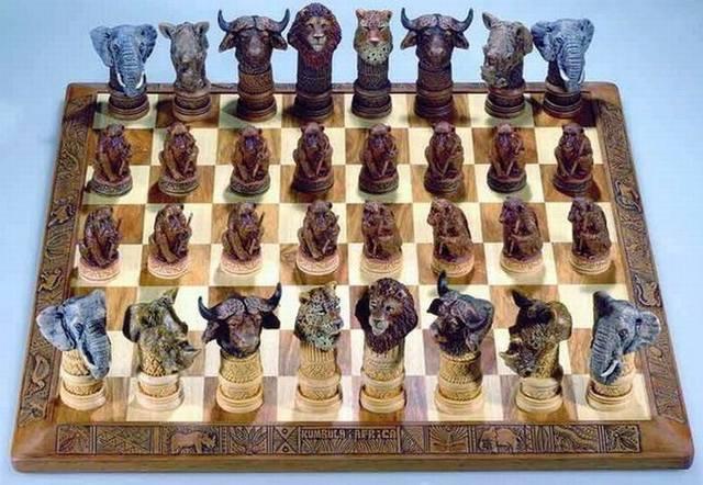 Животные шахматы