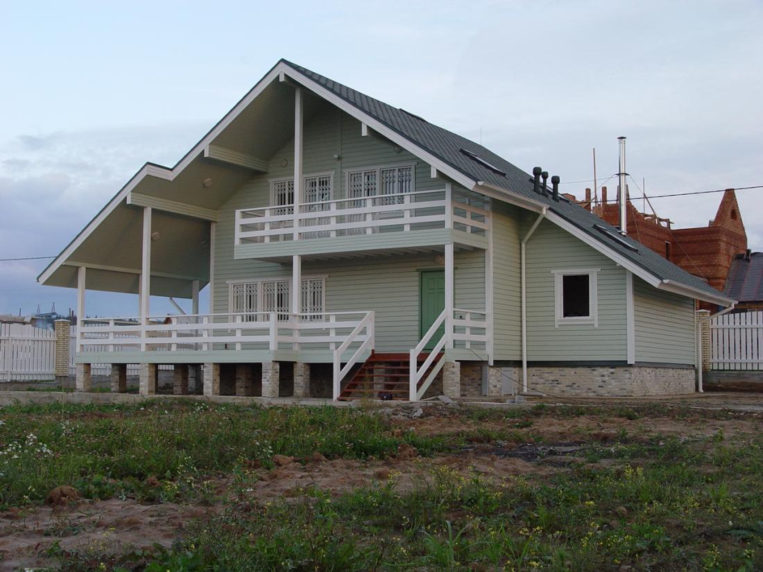Каркасный дом от «Промстройлес»