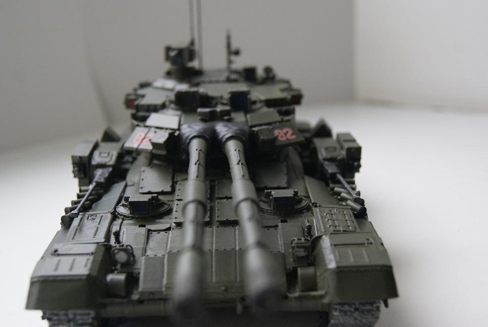 """Танк Т-145 типа """"Молот"""", масштаб 1\35, конверсия-самоделка 18377880"""