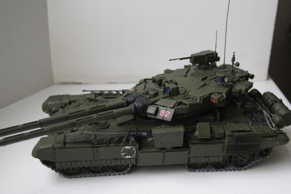 """Танк Т-145 типа """"Молот"""", масштаб 1\35, конверсия-самоделка 18377929"""