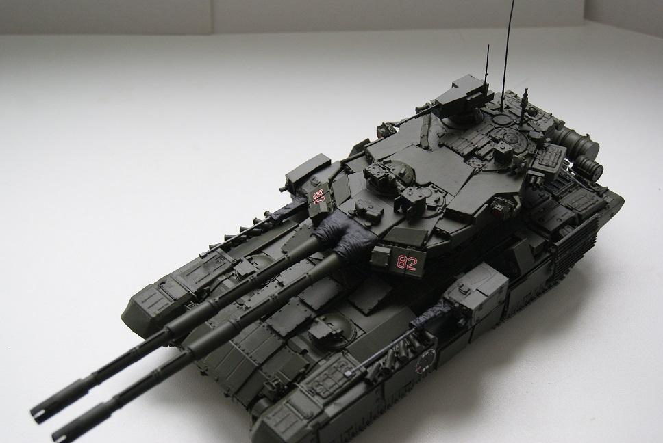 """Танк Т-145 типа """"Молот"""", масштаб 1\35, конверсия-самоделка 18377927"""