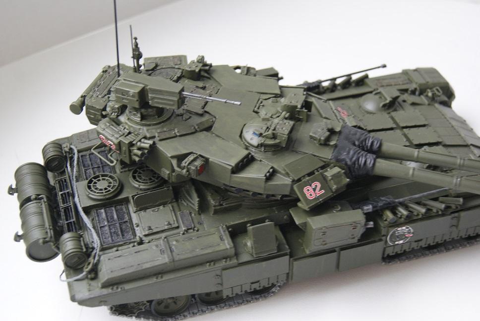 """Танк Т-145 типа """"Молот"""", масштаб 1\35, конверсия-самоделка 18377932"""