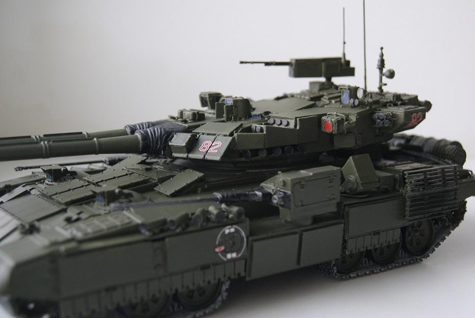 """Танк Т-145 типа """"Молот"""", масштаб 1\35, конверсия-самоделка 18377936"""