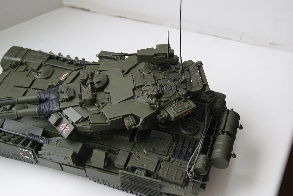 """Танк Т-145 типа """"Молот"""", масштаб 1\35, конверсия-самоделка 18377930"""
