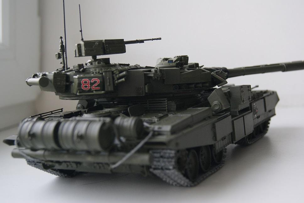 """Танк Т-145 типа """"Молот"""", масштаб 1\35, конверсия-самоделка 18377995"""