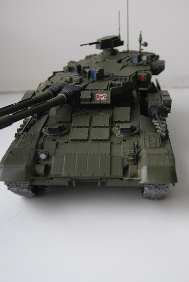 """Танк Т-145 типа """"Молот"""", масштаб 1\35, конверсия-самоделка 18377993"""