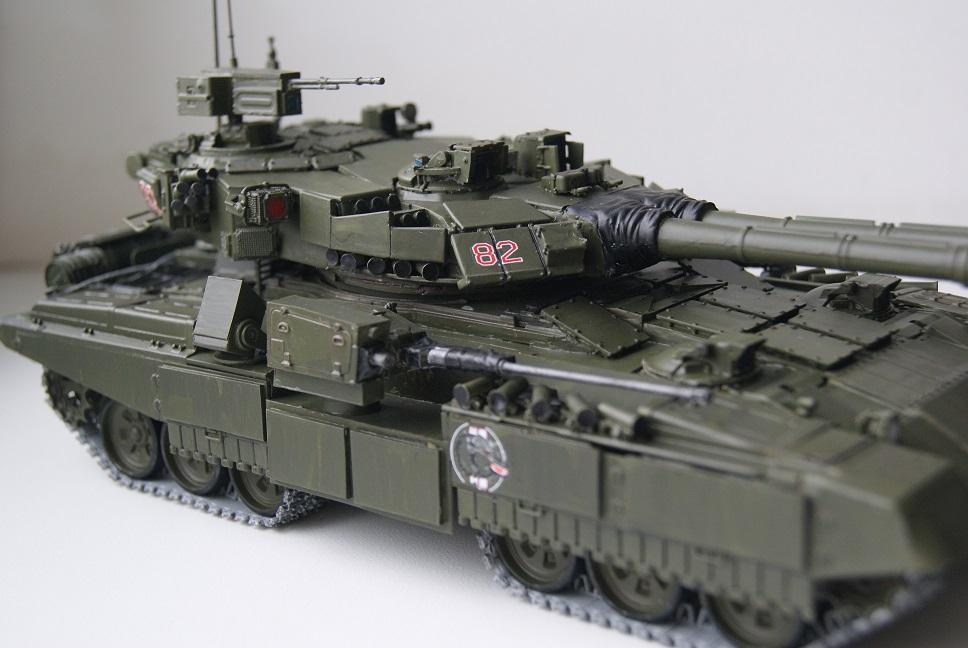 """Танк Т-145 типа """"Молот"""", масштаб 1\35, конверсия-самоделка 18378001"""
