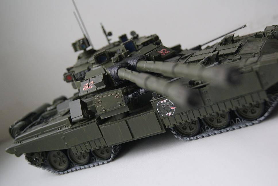 """Танк Т-145 типа """"Молот"""", масштаб 1\35, конверсия-самоделка 18378003"""