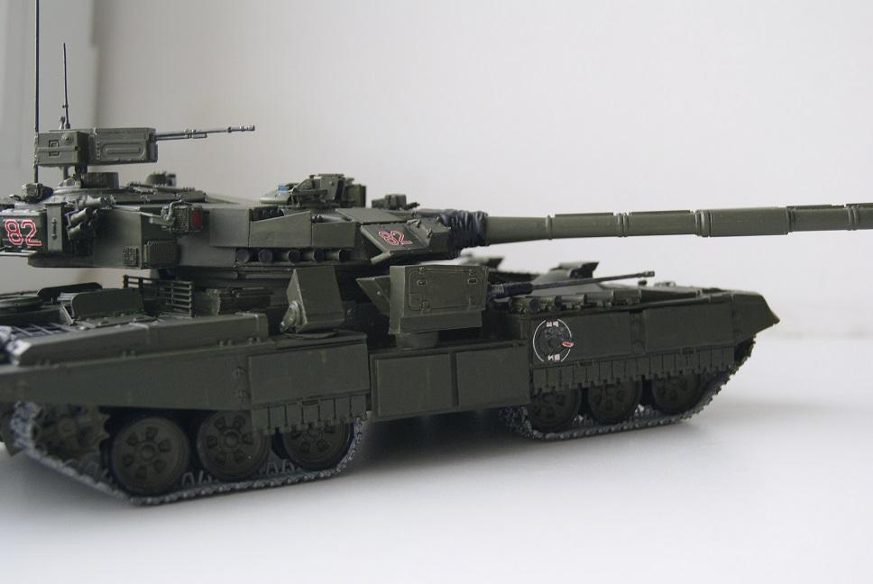 """Танк Т-145 типа """"Молот"""", масштаб 1\35, конверсия-самоделка 18377997"""